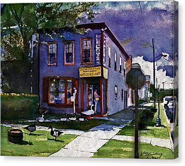 Susquehanna Trading Company Canvas Print