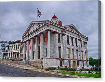 Sussex County Courthouse Canvas Print by Mark Miller