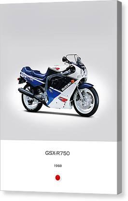 Suzuki Gsx-r750 1988 Canvas Print