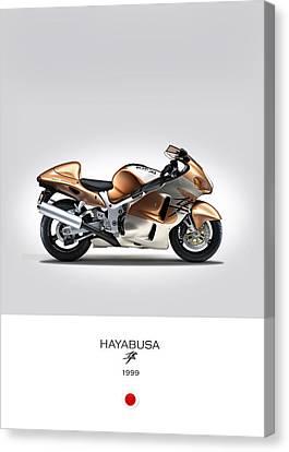 Suzuki Hayabusa 1999 Canvas Print