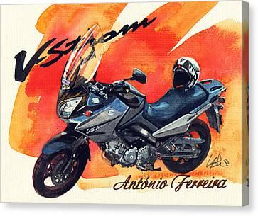 Suzuki Strom 650 Canvas Print