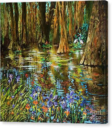 Swamp Iris Canvas Print