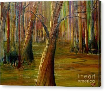 Swamp Magic Canvas Print