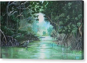 Swampland Canvas Print