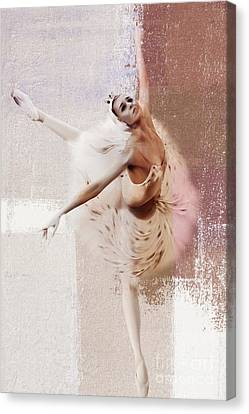 Ballet Dancers Canvas Print - Swan Lake Dance  by Gull G