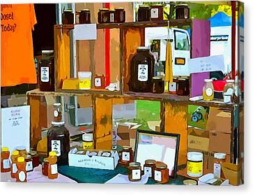 Saugerties Canvas Print - Swarmbustin Honey 2 by Lanjee Chee