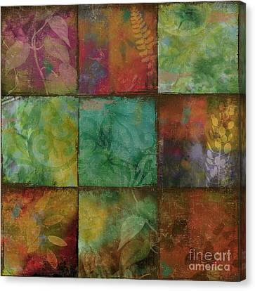Swatchbox I Canvas Print by Mindy Sommers