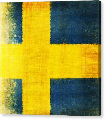 Swedish Flag Canvas Print