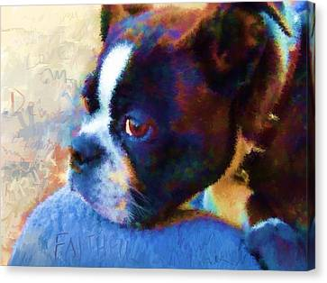 Sweet Boston Betty Canvas Print
