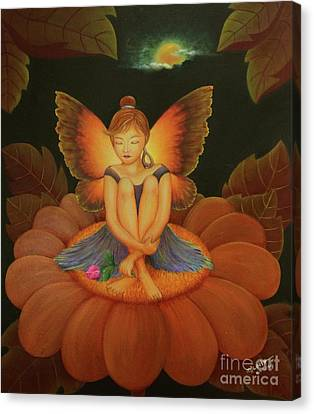 Sweet Dream Canvas Print by Desiree Micaela