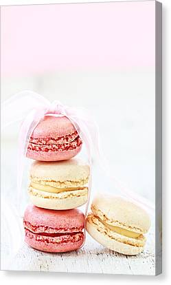 Sweet French Macarons Canvas Print