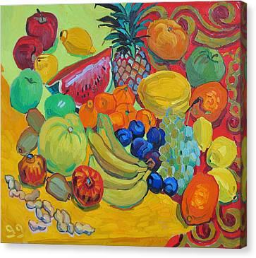 Sweet Fruits Canvas Print by Vitali Komarov