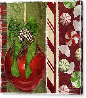 Sweet Holiday II Canvas Print by Mindy Sommers
