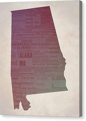Lynyrd Skynyrd Canvas Print - Sweet Home Alabama by Dan Sproul