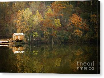 Canvas Print featuring the photograph Sweet Home by Iris Greenwell