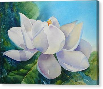 Sweet Magnolia Canvas Print by Bobbi Price