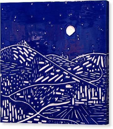 Sweet Night Canvas Print by Jason Messinger
