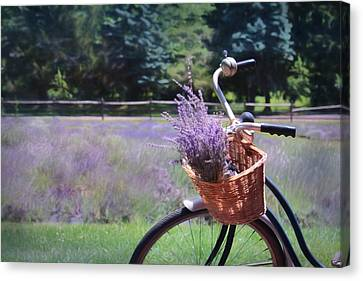 Farm Fields Canvas Print - Sweet Ride by Lori Deiter