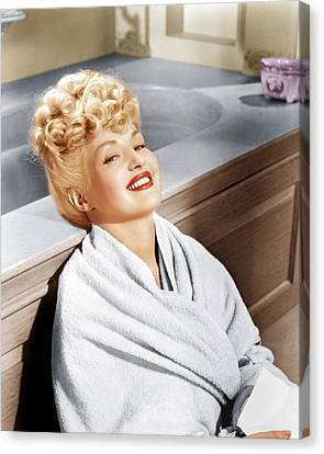 Sweet Rosie Ogrady, Betty Grable, 1943 Canvas Print by Everett