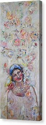 Sweet Secrets Canvas Print by Sharon Furner