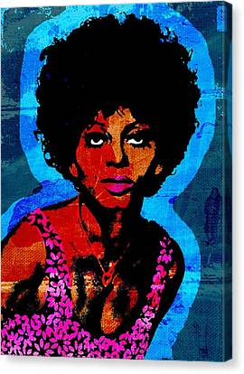 Diana Ross Canvas Print - Sweet Soul Sista 2 by Otis Porritt