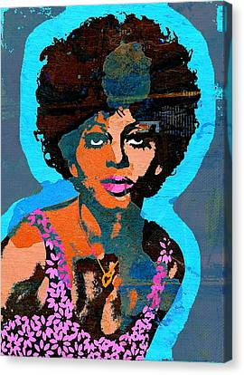 Diana Ross Canvas Print - Sweet Soul Sista 2b by Otis Porritt