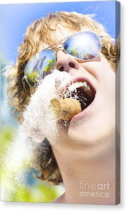 Sweet Taste Of Success Canvas Print