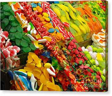 Canvas Print featuring the photograph Sweet Tooth by Sue Melvin