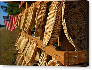 Sweetgrass Baskets Canvas Print