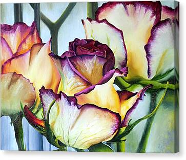 Sweetheart Roses Canvas Print