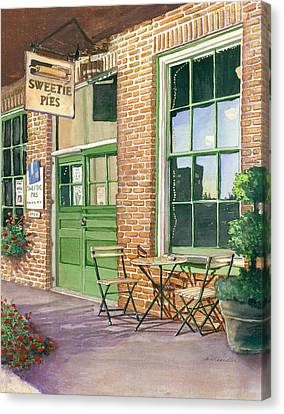 Sweetie Pies Bakery Canvas Print
