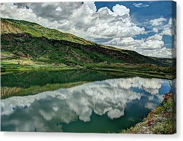 Sweetwater Lake 3 Canvas Print by Dimitry Papkov