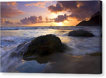 Swept Away Canvas Print