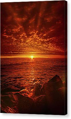 Canvas Print featuring the photograph Swiftly Flow The Days by Phil Koch