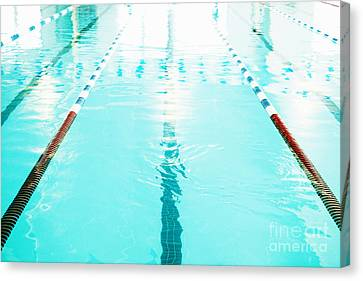 olympic swimming pool canvas print swimming pool lane by skip nall - Olympic Swimming Pool Lanes