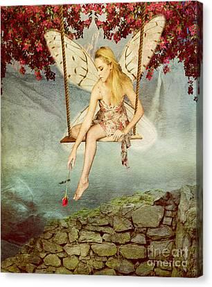 Swing Fairy Canvas Print