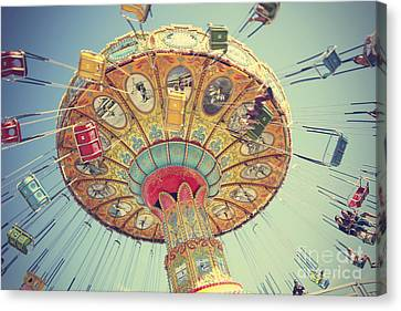 Exhilarating Canvas Print - Swing, Swing by Jennifer Ramirez