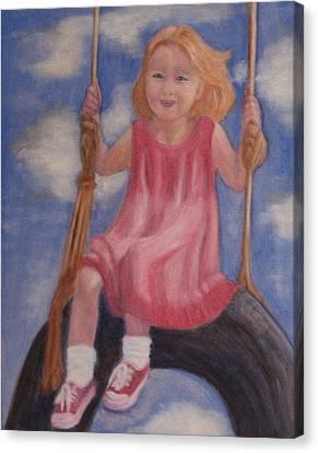 Swingin Canvas Print by Patricia Ortman