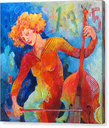Swinging At Club 135 Canvas Print by Susanne Clark