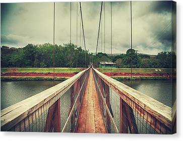 Sightseeing Canvas Print - Swinging by Laurie Search