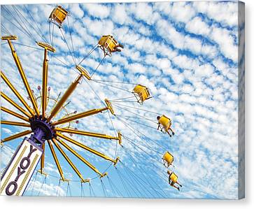 Swings On High Canvas Print