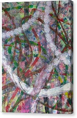 Swirl I Canvas Print by Russell Simmons