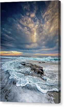 Swirl Canvas Print by Peter Tellone