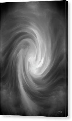 Swirl Wave Iv Canvas Print by David Gordon