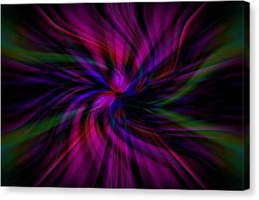 Swirls Canvas Print by Cherie Duran