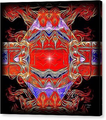 Swirls Of Intensity Canvas Print