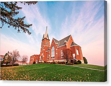 Swiss Church Canvas Print by Todd Klassy
