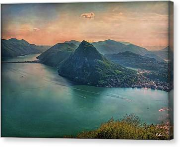 Canvas Print featuring the photograph Swiss Rio by Hanny Heim