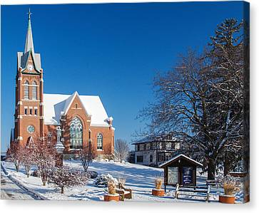 Swiss United Church Of Christ Canvas Print by Todd Klassy
