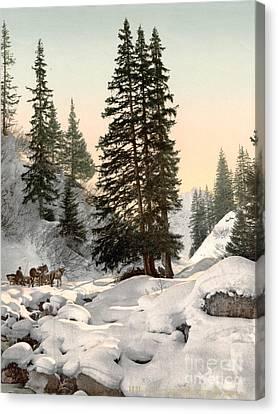 Switzerland: Davos, C1895 Canvas Print by Granger